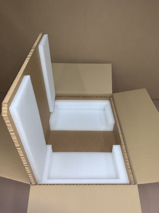 "Picture of Hexacomb Box S1U/S2U (inside Dimensions:22.5 x 17.5 x 1.75""-3.5"")"