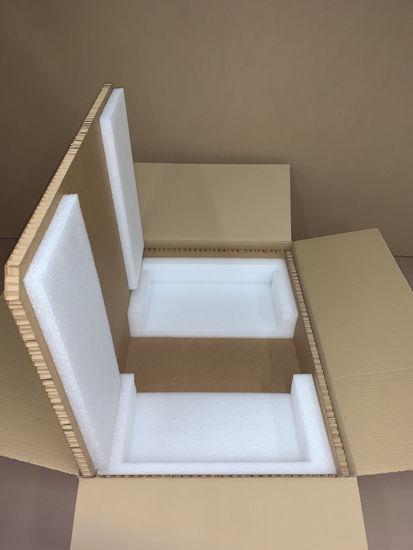 "Picture of Hexacomb Box S1U/S2U (inside Dimensions:22.5 x 17.5 x 1.75""-3.5"")"