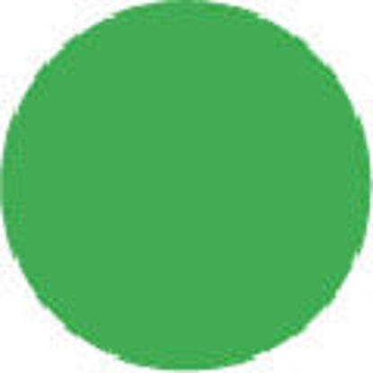 "Picture of 2"" Circle Labels - GREEN-100 labels/roll"