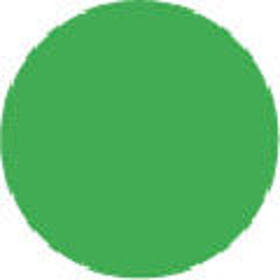 """Picture of 2"""" Circle Labels - GREEN-100 labels/roll"""