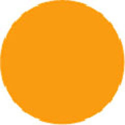 "Picture of 2"" Circle Labels - ORANGE-100 labels/roll"