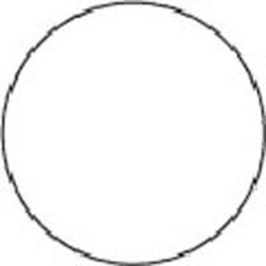 "Picture of 2"" Circle Labels - WHITE-100 labels/roll"