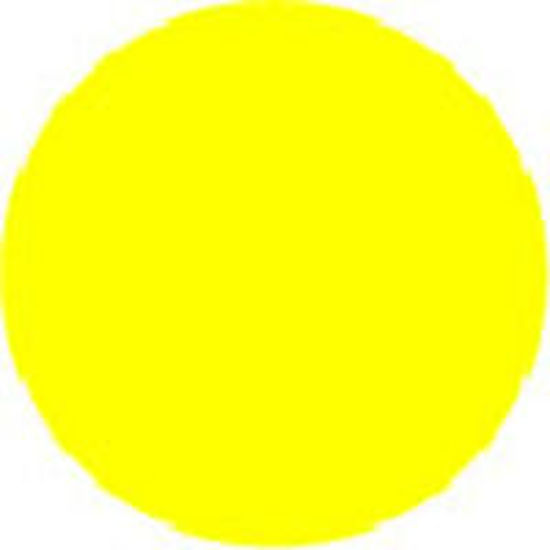 "Picture of 2"" Circle Labels - YELLOW-100 labels/roll"
