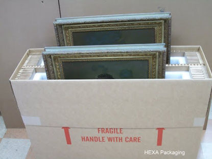 Picture of 36x36 Artwork Hexacomb Box