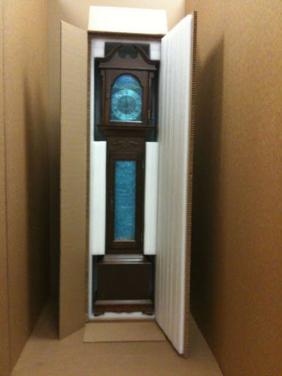 Picture of GRANDFATHER CLOCK 16 1/2 x 25 x 80""