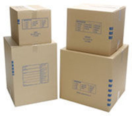 """Picture of Large Moving Box 18 X 18 X 24"""""""