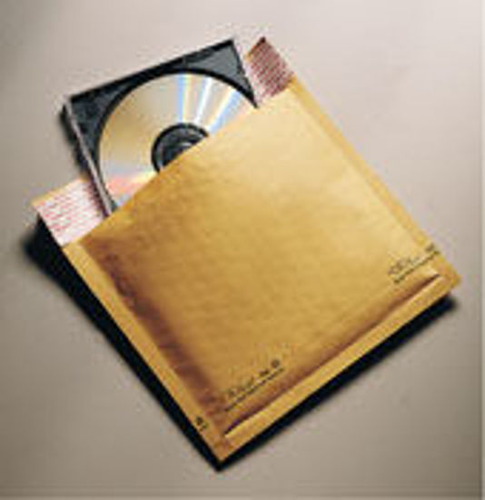 "Picture of Kraft Jiffylite Bubble Mailers-CD ROM  7 1/4 X 8""  200 Mailers"
