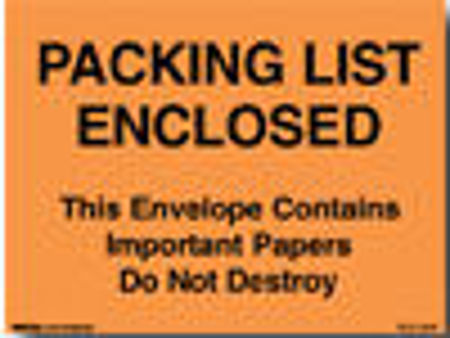 Picture for category Packing List Enclosed