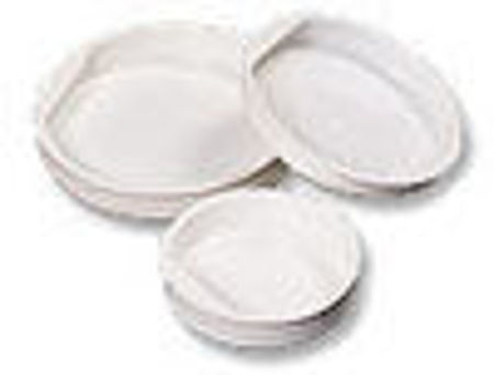 Picture for category Plastic End Caps - White