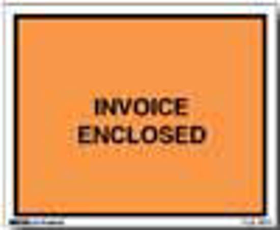 Picture of Invoice Enclosed Envelopes - 4 1/2 x 6'