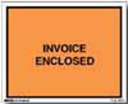 Picture of Invoice Enclosed Envelopes - 5 1/2 x 10'