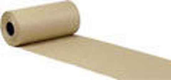 "Picture of Natural Kraft Paper Roll - 60"" x 825' ; 60 lb basis weight"