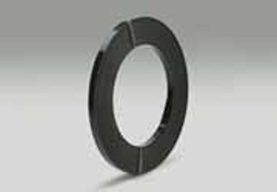 """Picture of Standard Duty - 1350 Lbs Nominal Break  - 1/2"""" Wide ; .023"""" Thick ; 25.58 Ft/Lbs ; OS Coil Winding ; P/W Strap Finish"""