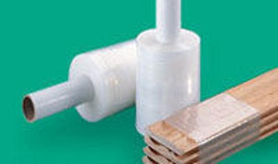 "Picture of Mini Stretch Wrap Rolls 3""x1000' 80G 3 INCH 18RL/CS"