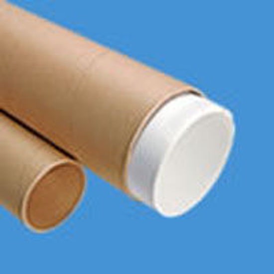 "Picture of Telescoping Mailing Tubes - 2 X 18"" w/0.125 Thickness"