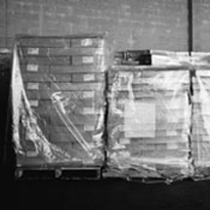 """Picture of Pallet Covers 1.25 Mil 60 x 60"""" Clear 250 Roll"""