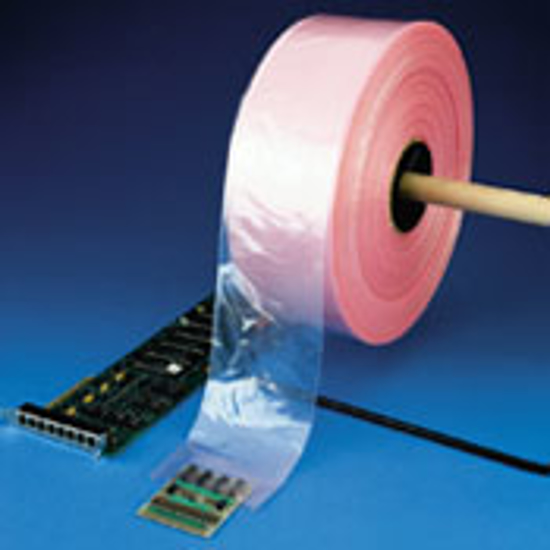 "Picture of Poly Tubing Anti-Static 4 Mil 5"" X 1075'"