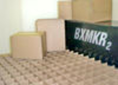 """Picture of Corrugated Boxes 275 T - 15 X 15 X 15"""" WHITE D/W"""