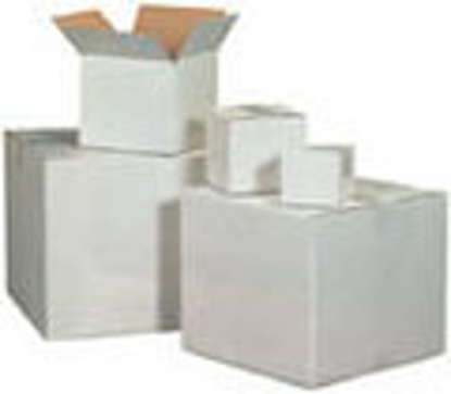 """Picture of Corrugated Boxes 200 T - 18 X 14 X 4"""" WHITE"""