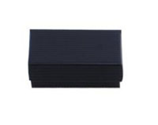 """Picture of Black Pinstripe Jewelry Boxes - 3 1/2 x 3 1/2 x 2"""""""