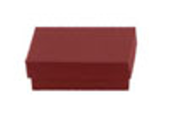 Picture of Brick Red Jewelry Boxes - 6 x 5 x 1""
