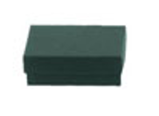 """Picture of Dark Green Jewelry Boxes - 3 1/2 x 3 1/2 x 1"""""""