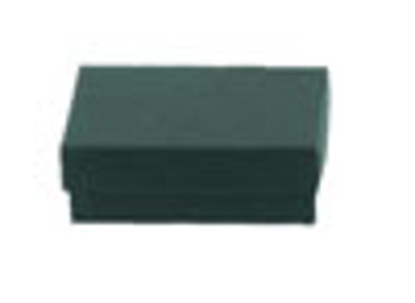 Picture of Dark Green Jewelry Boxes - 3 1/2 x 3 1/2 x 2""