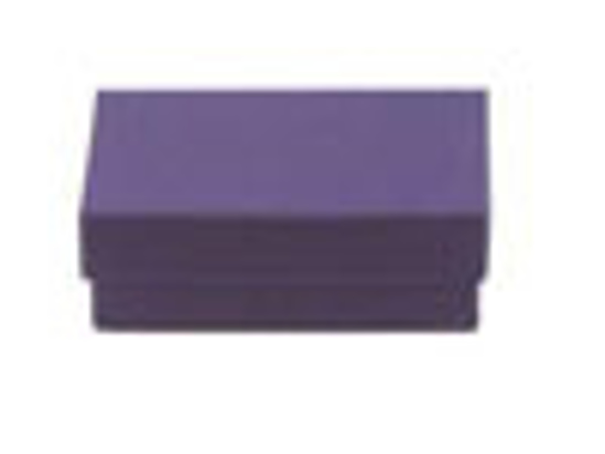 """Picture of Deep Purple Jewelry Boxes - 3 1/2 x 3 1/2 x 1"""""""