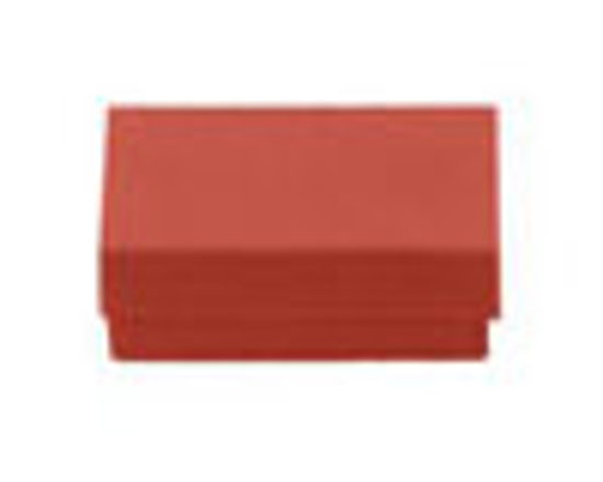 "Picture of Orange Jewelry Boxes - 3 1/2 x 3 1/2 x 1"""