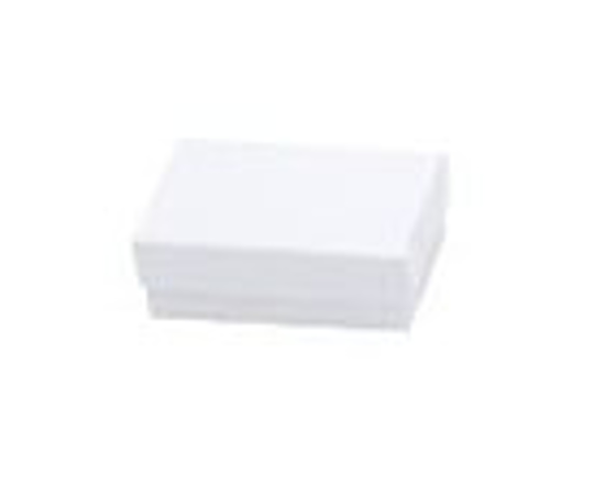Picture of White Krome Jewelry Boxes 3 1/2 X 3 1/2 X 1""