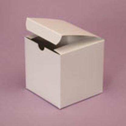 """Picture of White Gloss Gift Boxes - 10 x 10 x 6"""""""
